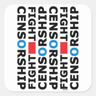 Fight Censorship Sticker