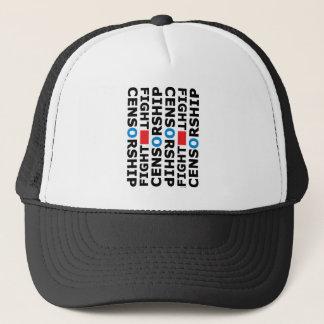 Fight Censorship Trucker Hat