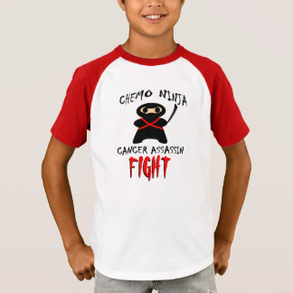 FIGHT!  Chemo Ninja Cancer Assassin T-Shirt