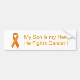 Fight Childhood Cancer Bumper Sticker Car Bumper Sticker