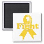 Fight Childhood Cancer Refrigerator Magnet