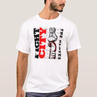FIGHT CITY vertical logo T-shirt