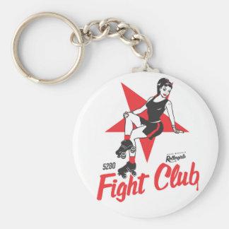 Fight Club Basic Round Button Keychain