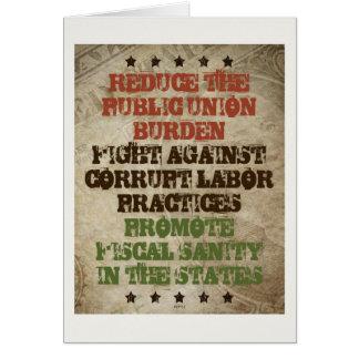 Fight Corrupt Labor Card