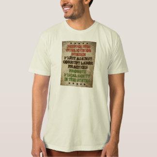 Fight Corrupt Labor T Shirt