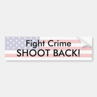 Fight Crime - Customized Car Bumper Sticker