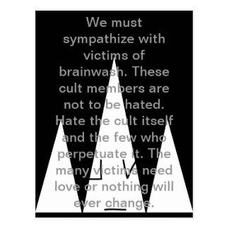 Fight Cults Postcard