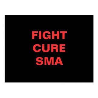 FIGHT CURE SMA POSTCARD