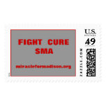 FIGHT  CURESMA, miracleformadison.org Postage Stamps