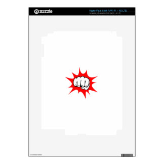 fight decal for iPad 3
