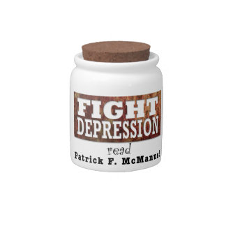 Fight Depression Candy Jar