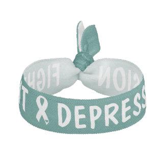 Fight Depression Hair Tie