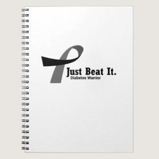 Fight Diabetes Awareness  Gifts Diabetics Notebook