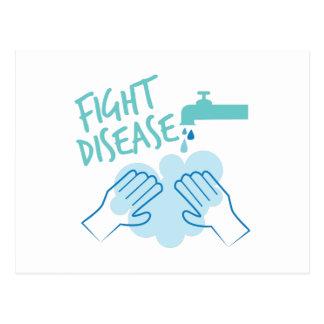 Fight Disease Postcard