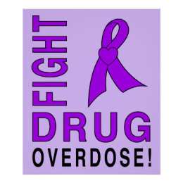 Fight Drug Overdose Poster