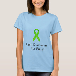 Fight Duchenne For Pauly Fundraiser Womens Tee