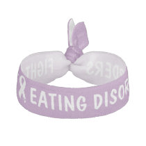 Fight Eating Disorders Hair Tie