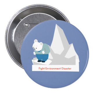 Fight Environment Disaster Button