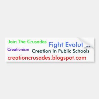 Fight Evolution Bumper Sticker