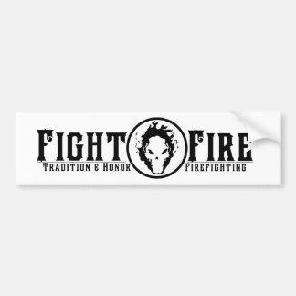 Fight Fire Bumper Sticker
