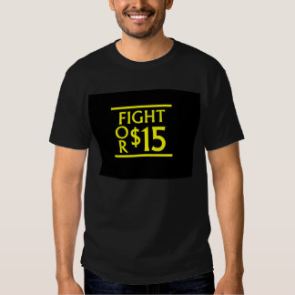 Fight for $15 tees