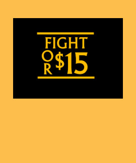 FIGHT FOR $15 TSHIRTS