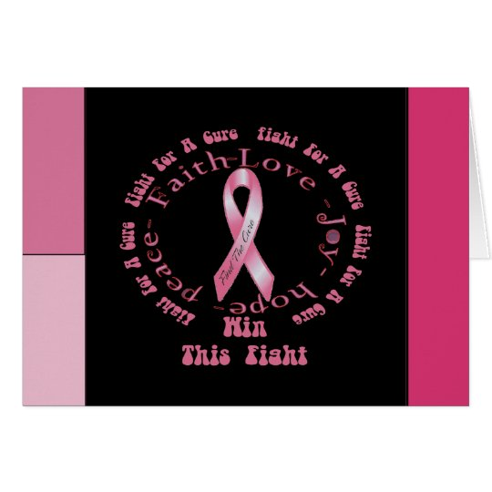 Fight For A Cure Card