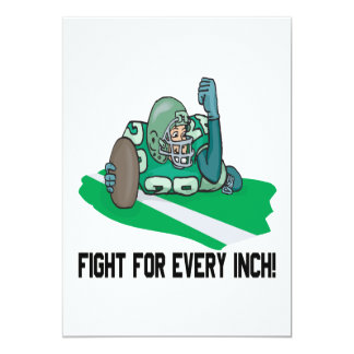 Fight For Every Inch Card