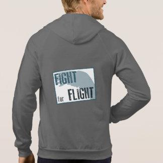 Fight for Flight Unisex Zip Hoody (Dark colour)