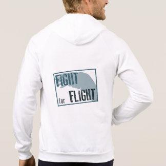 Fight for Flight Unisex Zip Hoody (Light colour)
