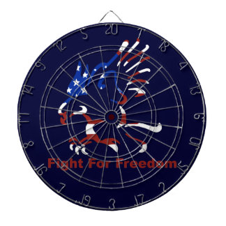 Fight For Freedom Eagle Dart Board