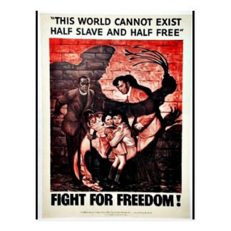 Fight For Freedom Postcard