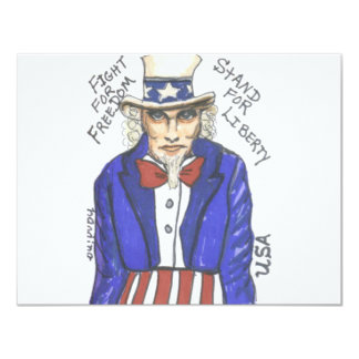 Fight for Freedom Stand for Liberty Card