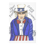 Fight for Freedom Stand for Liberty Custom Stationery
