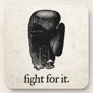 Fight For It Cork Coaster Set