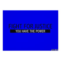 Fight for Justice Poster