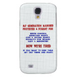 Fight For Rights Galaxy S4 Cases