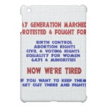 Fight For Rights iPad Mini Cover