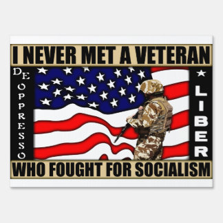Fight For Socialism? Lawn Sign