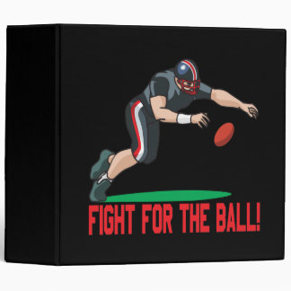 Fight For The Ball Binder