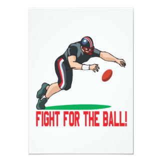 Fight For The Ball Card