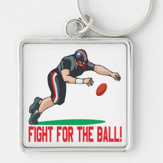 Fight For The Ball Keychain