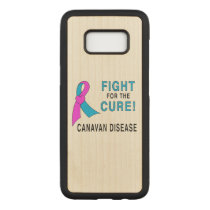Fight for the Cure: Canavan Disease Carved Samsung Galaxy S8 Case