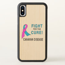Fight for the Cure: Canavan Disease iPhone X Case