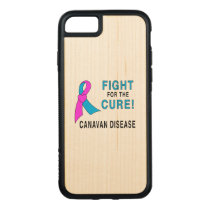 Fight for the Cure: Canavan Disease Carved iPhone 8/7 Case