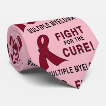 Fight for the Cure: Multiple Myeloma Neck Tie