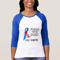 Fight for the Cure Type 1 Diabetes T-Shirt