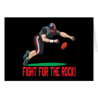 Fight For The Rock Card