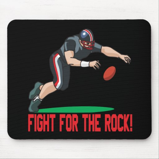 Fight For The Rock Mouse Pad