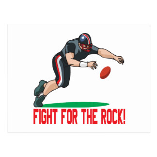 Fight For The Rock Postcard